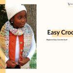 Easy Crochet Scarf