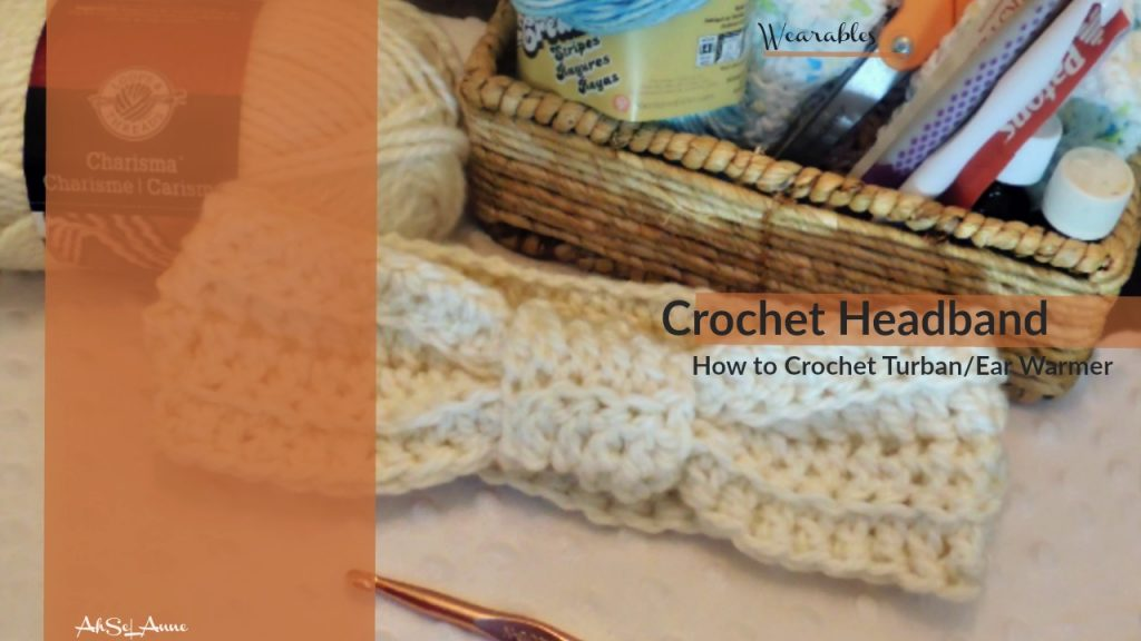 Crochet Headband/Turban/ Ear Warmer