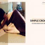 Simple Crochet Blanket