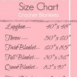 Blanket Size Chart
