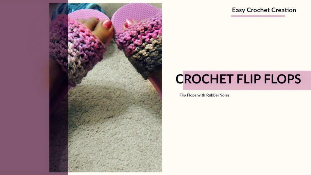Crochet Flip Flop