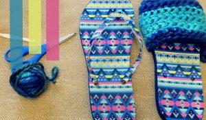 Crochet Flips Flops