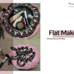 Flat Crochet Makeup Bag