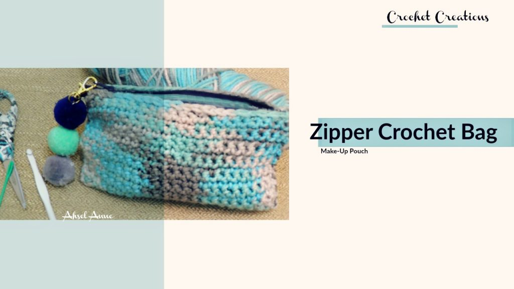 Crochet Zipper Bag