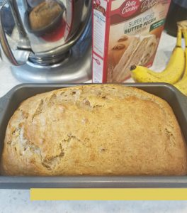 Banana Bread 4 Ingredients