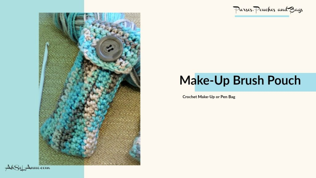 Crochet Make-Up Brush