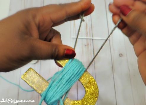 Step 3 Creating Tassel