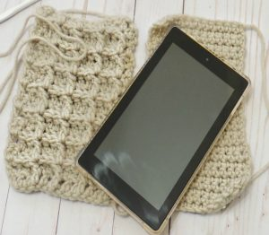 Crochet Kindle/ E-Reader Pouch