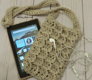 Crochet Kindle/ E-Reader Pouch