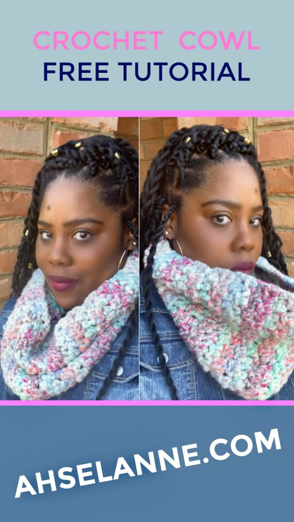 Lemon Peel Crochet Cowl